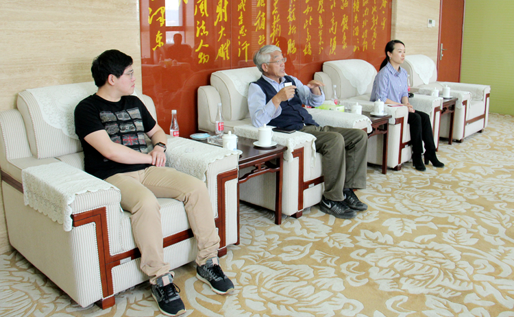 President of the Australian Shaanxi Chamber of Commerce Inc. Visited XVTC